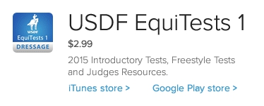 USDF EquiTests for iphones