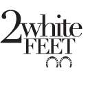 2 White Feet, Inc.  Logo